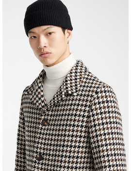 Houndstooth Coat by Ami Alexandre Mattiussi
