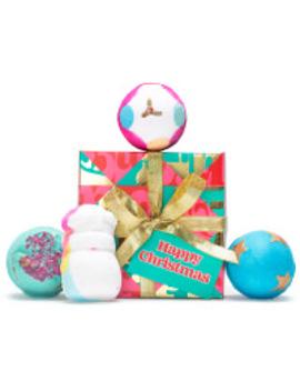 Happy Christmas   Golden Wonder    Fly Me To The Moon    Santa Bomb Bomb       Not So Secret Santa by Lush Fresh Handmade Cosmetics