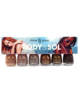 China Glaze Nail Lacquer   Mini The Body & Sol   6 Colors X 3.6ml/0.125oz by Ebay Seller