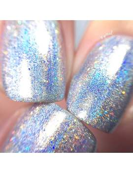 100% Holographic   Chasing Rainbows || Rainbow Glitter Nail Polish || Indie Lacquer || Polish Me Silly by Etsy