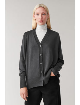 Seamless Wool Cardigan by Cos