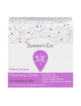 Summer's Eve, Cleansing Cloths, Island Splash, 16 Ct by Summer's Eve