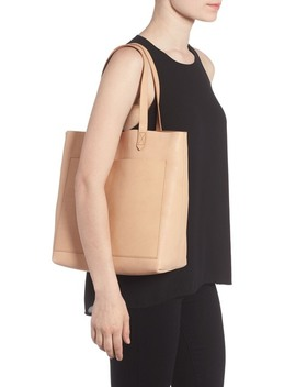 Medium Leather Transport Tote by Madewell