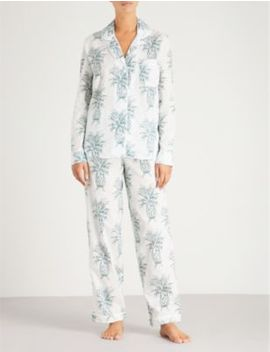 Howie Cotton Voile Pyjama Set by Desmond And Dempsey