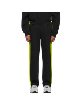 Black Puma Edition T7 Overlay Lounge Pants by Ader Error