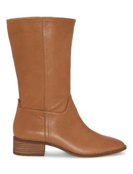 Laerys Leather Boots by Lucky Brand