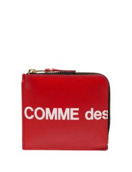 Logo Printed Wallet by Comme Des Garçons Wallet