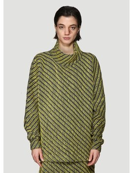 Atim Long Sleeve Sweater In Yellow by Namacheko