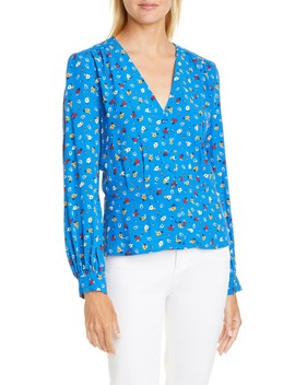 Lali Floral Blouse by Ba&Sh