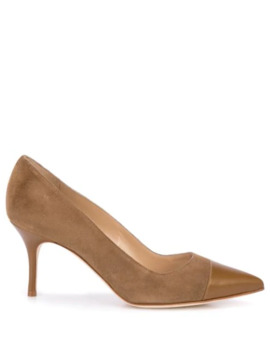 Irene Pointed Pumps by Manolo Blahnik