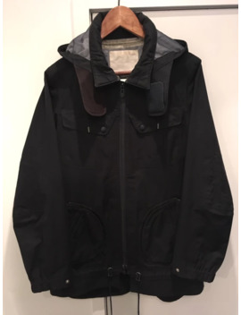 Pertex 3 L Taped Seam & Removable Hood Jacket by White Mountaineering  ×