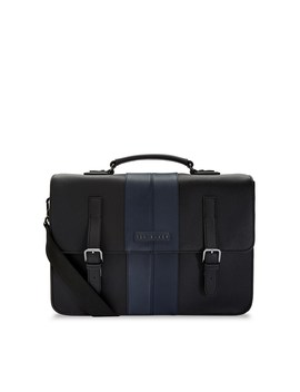 Twill Pu Satchel by Ted Baker