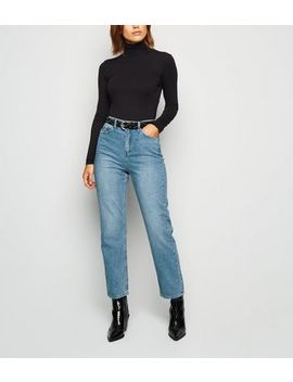 Urban Bliss Blue Straight Leg Jeans by New Look