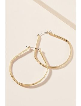 Hathaway Hoop Earrings by Anthropologie