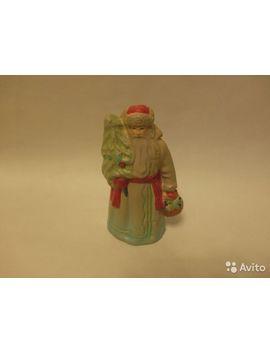 Дед Мороз гипс рост 16 см by Avito