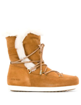 Shearling Snow Boots by Moon Boot