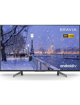 "Bravia Kd 49 Xg8396 Bu 49\"" Smart 4 K Ultra Hd Hdr Led Tv With Google Assistant by Currys"