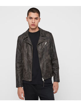 Drury Leather Biker Jacket by Allsaints