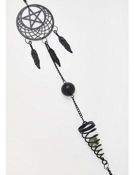 Pentagram Dream Catcher by Alchemy England