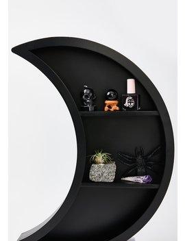 Luna Wooden Shelf by Killstar