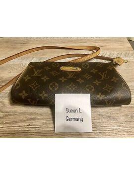 Louis Vuitton Eva Monogram Crossbody Purse Tasche Bag by Ebay Seller