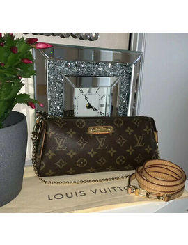 Org. Louis Vuitton Pochette Eva Monogram Clutch Selten by Ebay Seller