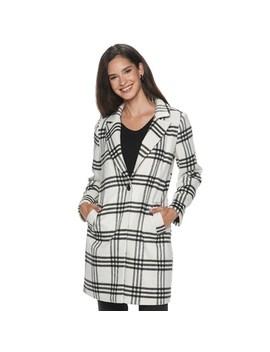 Women's Apt. 9® One Button Long Coat by Apt. 9