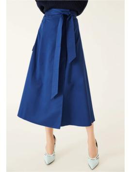 Wrap Skirt Midi   Wickelrock by Ivy & Oak