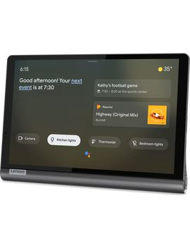 "Yoga Za3 V0047 Gb Smart Tab 10.1"" Tablet   64 Gb, Black by Currys"