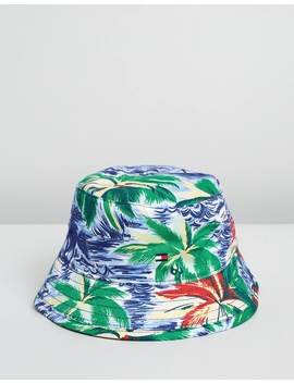 Reversible Bucket Hat   Kids by Tommy Hilfiger