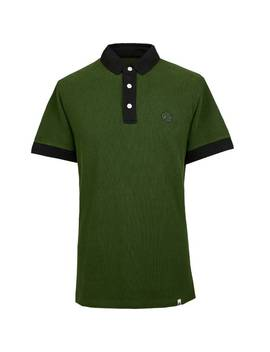 Heavy Weight Pique Polo Shirt by Pretty Green