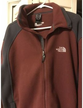 The North Face Mens Full Zip Fleece Jacket   Large by The North Face