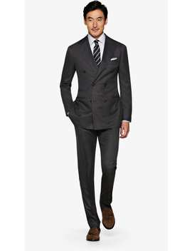 Jort Dark Grey Suit by Suitsupply