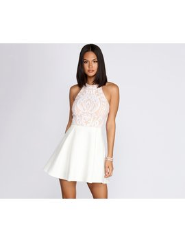 Spotlight Sequin Mini Dress by Windsor