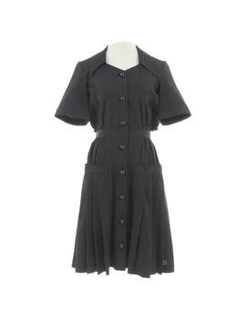 Wool Mid Length Dress by Chanel