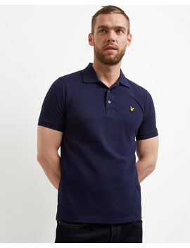 Plain Polo Shirt by Lyle & Scott