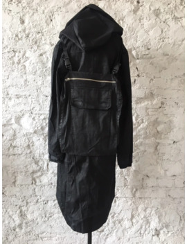 Hooded Parka With Bag Army Of Me / Thom Krom Rick Owens by Army Of Me  ×