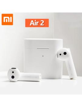 In Stock New Xiaomi Airdots Pro 2 Mi True Wireless Earphone 2 Xiaomi Air Tws Bluetooth Headsets 2 Lhdc Tap Control Dual Mic Enc by Ali Express.Com