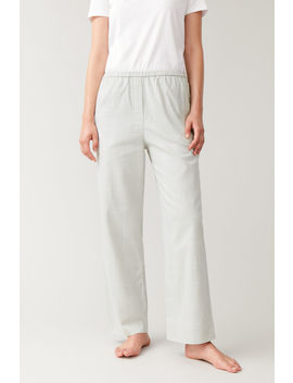 Cotton Pyjama Trousers by Cos