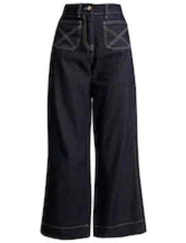 Lucas Wide Leg   Flared Jeans by Norr