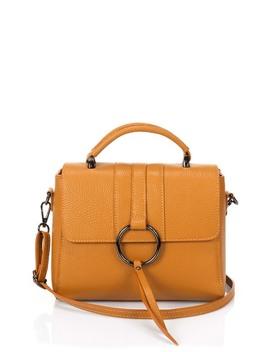 Leather Shoulder Bag by Lisa Minardi