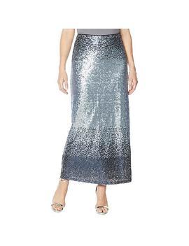 "<Span Class=""Callout Exclusive"">Exclusive!</Span>   Heidi Daus ""Distinctive Glamour"" Sequin Maxi Skirt by Heidi Daus"