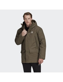 Parka Con Capucha Padded by Adidas