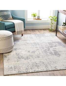 """The Gray Barn Singing Prairie Industrial Abstract Area Rug   8'10"""" X 12'3""""   Silver/Grey by The Gray Barn"""