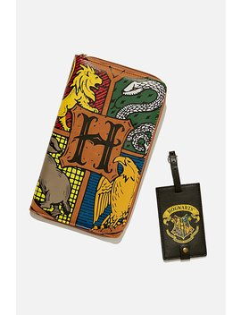 Harry Potter Rfid Wanderer Travel Set by Cotton On