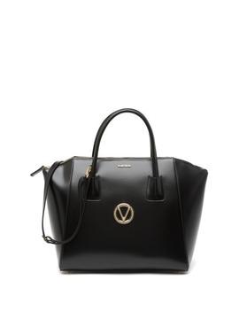 Gigi Soave Leather Satchel Bag by Valentino By Mario Valentino