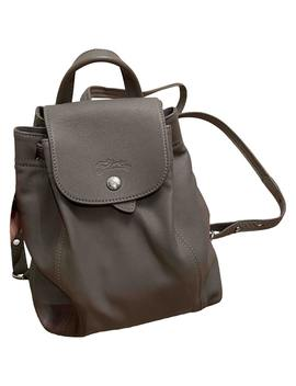 Leather Backpack by Longchamp
