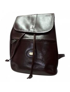Leather Backpack by Pierre Cardin