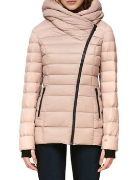 Jacinda N Hooded Puffer Coat by Soia & Kyo