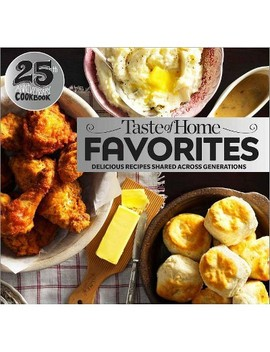 Taste Of Home Favorites  25th Anniversary Edition   (Spiral Bound) by Target